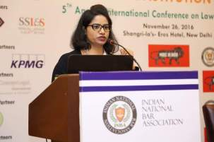 Project Abhimanyu presentation on Legal sector reforms the 67Th Constitution day Celebration by Indian National Bar Association, 26.11.2016 at Shangri-La Eros Hotel, New Delhi