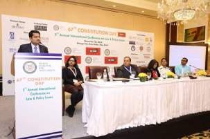 Panel discussion on Legal Sector- the way forward at the 67Th Constitution day Celebration by Indian National Bar Association, 26.11.2016 at Shangri-La Eros Hotel, New Delhi
